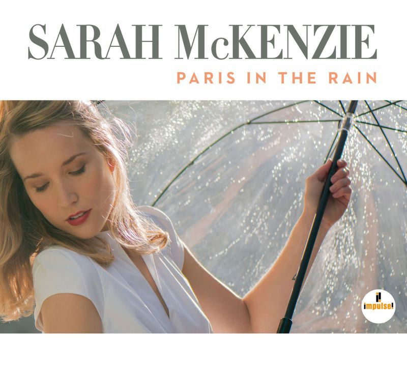 Album Cover Sarah McKenzie - Paris in the Rain